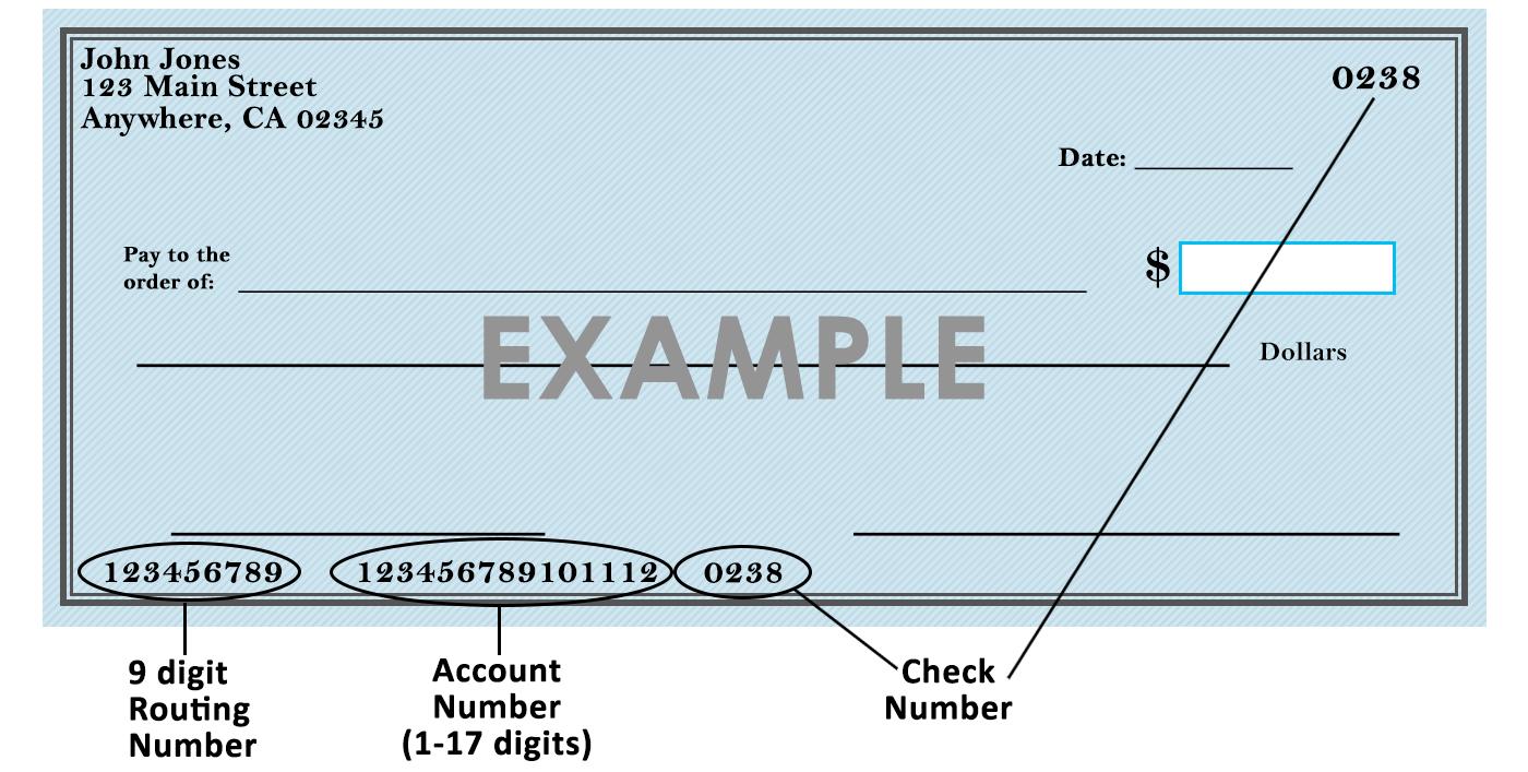 Sample Check Image