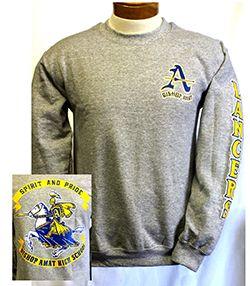 Grey Crew Sweatshirt