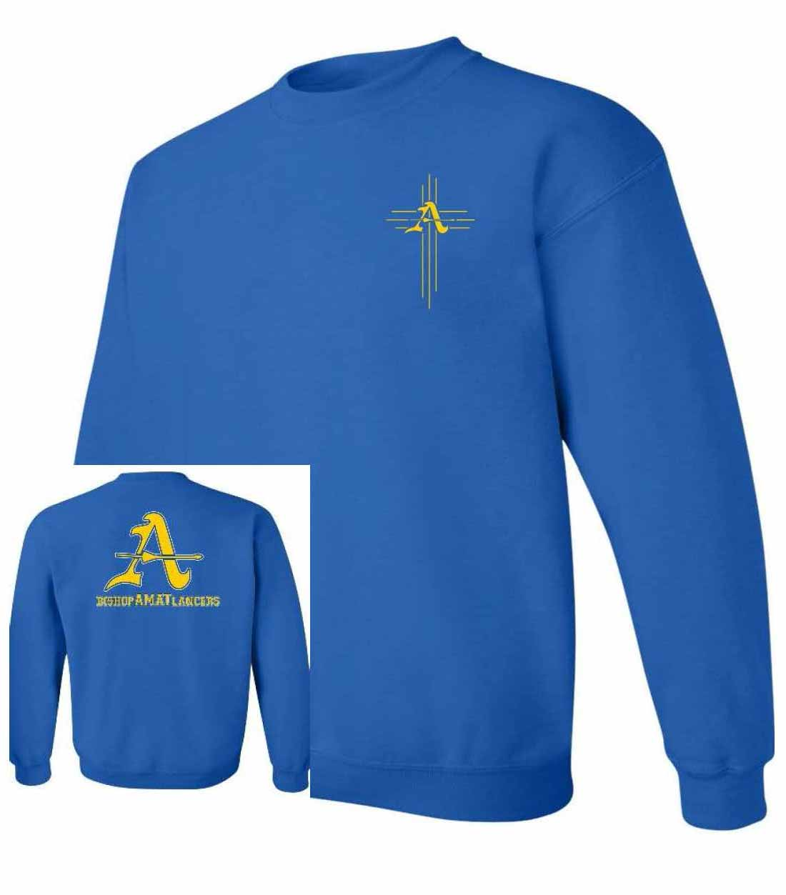 Blue Crew Sweatshirt